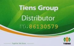 Tiens Consultant ID 86130579