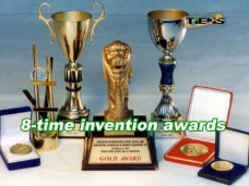 8 awards in International Exhibitions