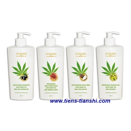 Tiens SPAKARE with hemp oil products