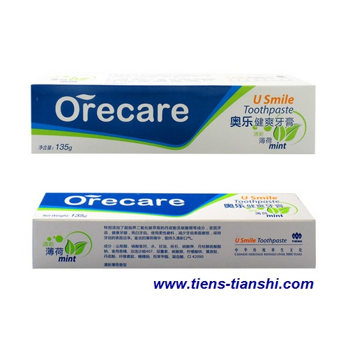 U Smile toothpaste for adults